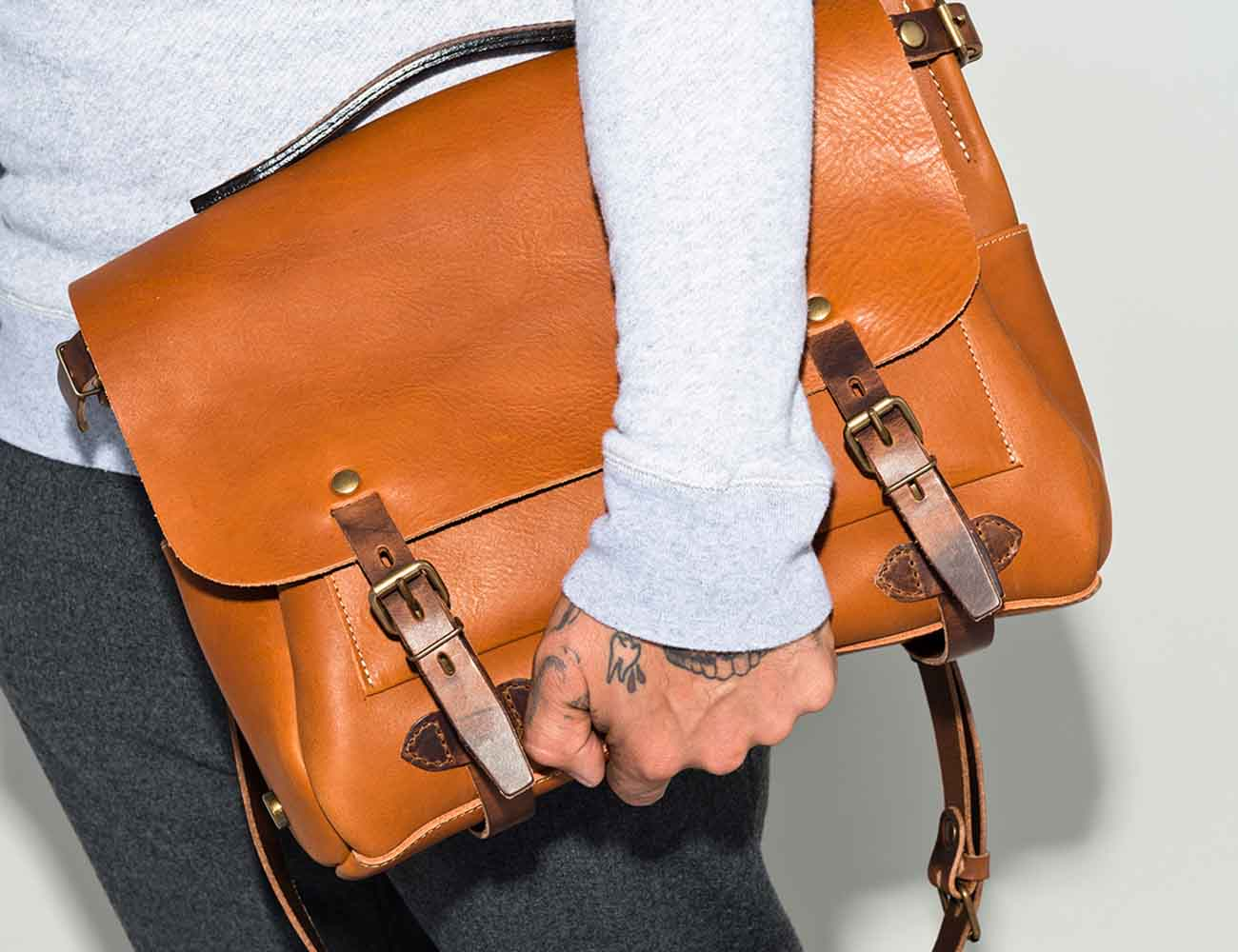 Harmattan Leather Bags Messengers Backpacks & Travel Bags