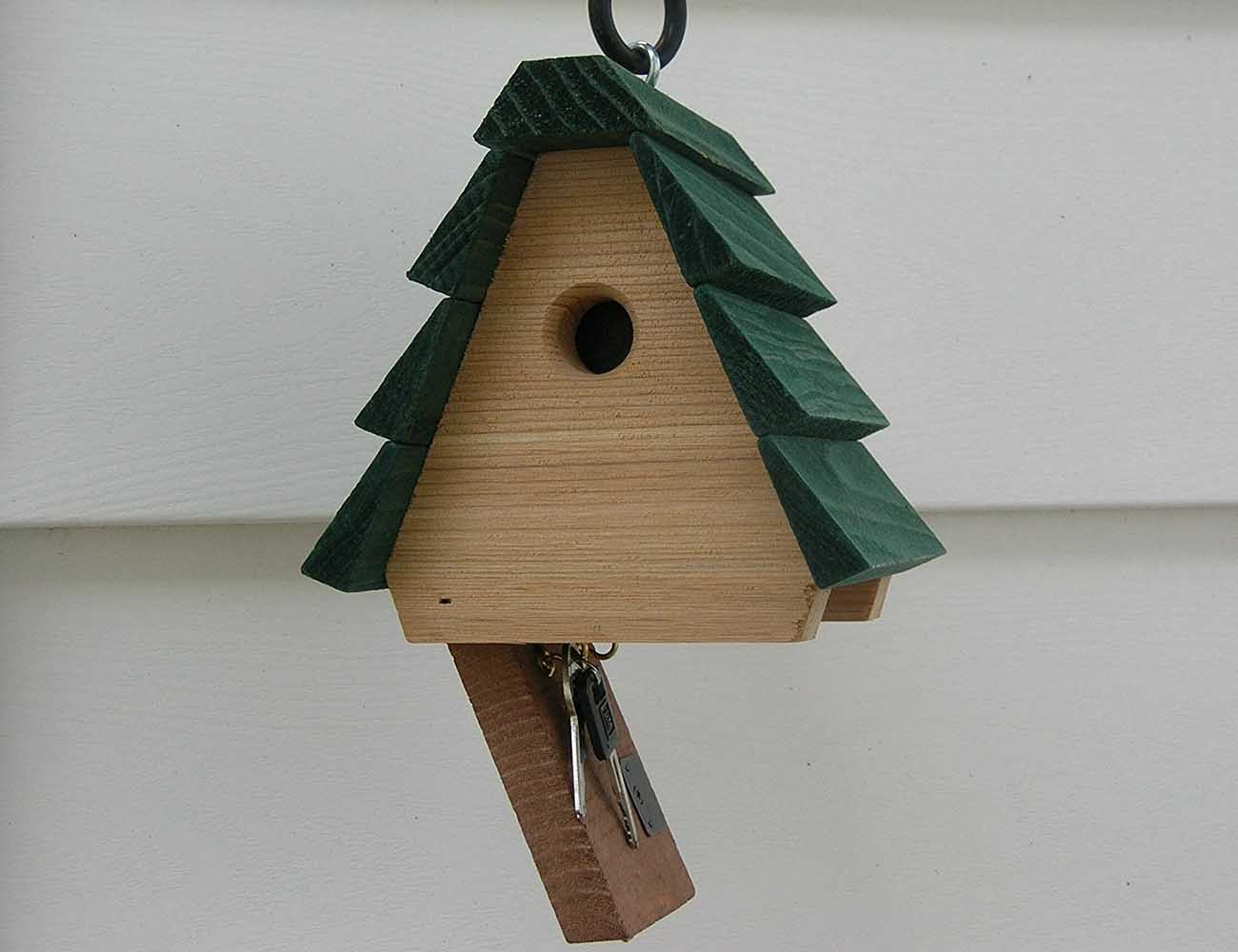 Hidden Key Birdhouse