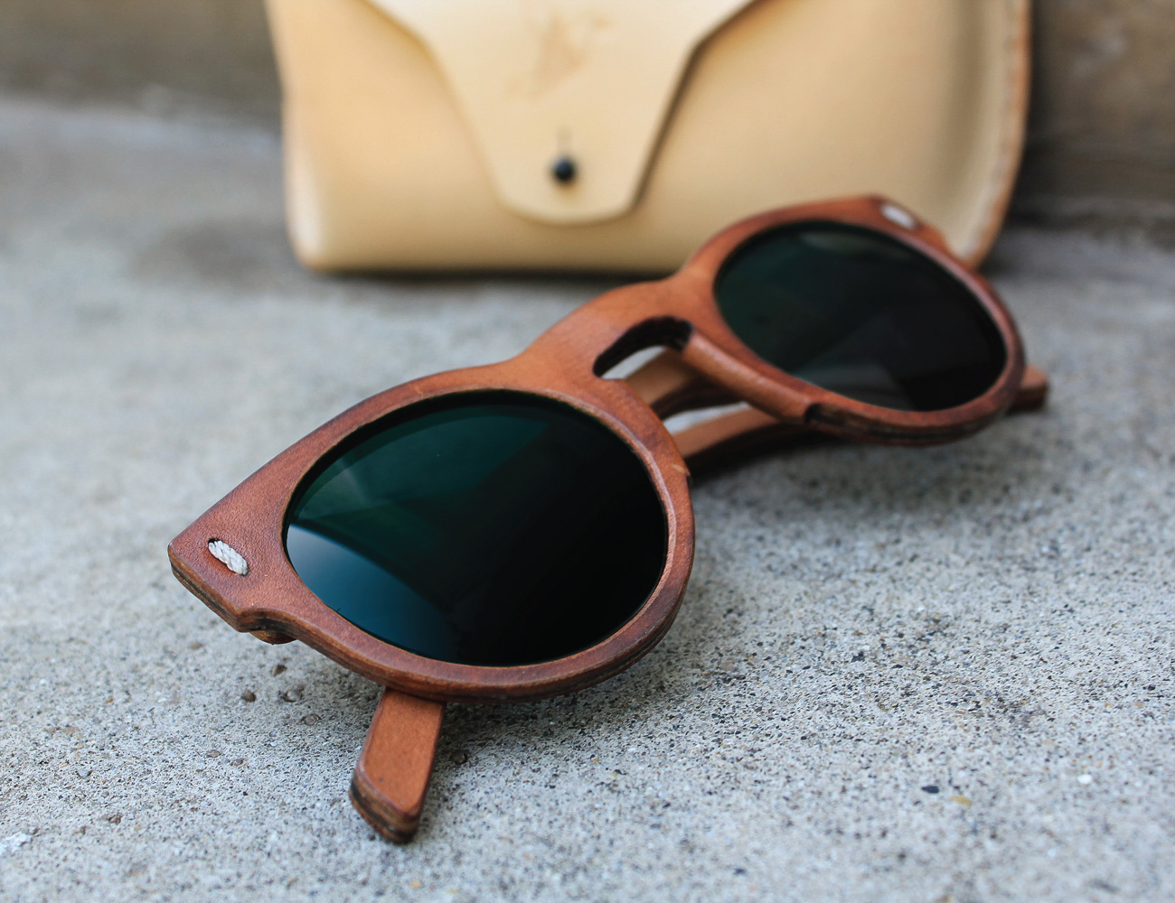 All Leather Sunglasses – Jbird Collective