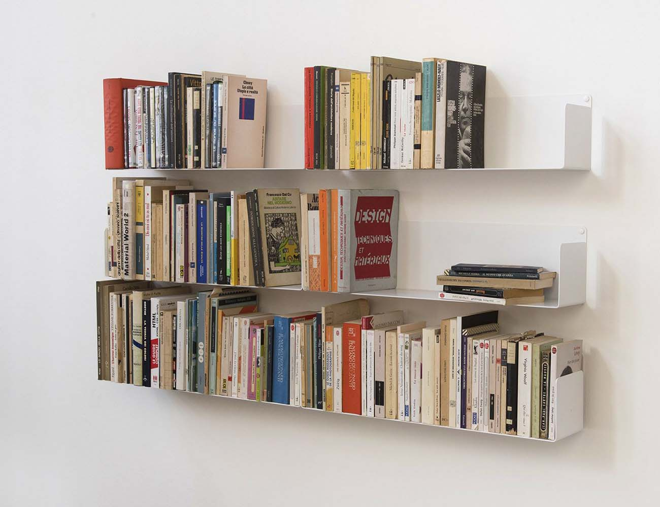 ... Judd Wall Shelves by TEEbooks  Keep Your Books Suspended in Air ...