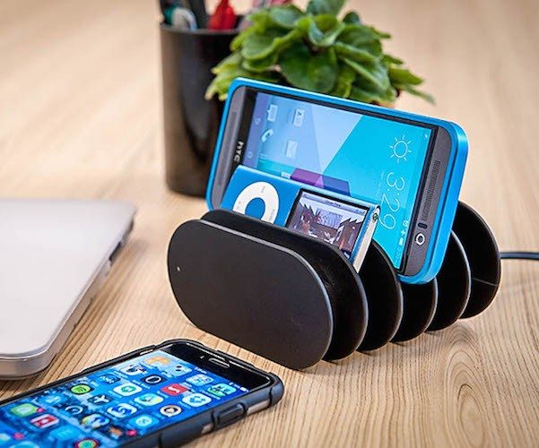 Fishbone Charging Station – Tidy Up and Charge Up!