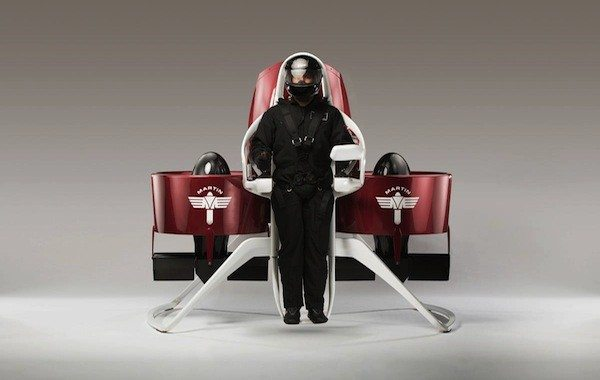 Martin Jetpack is the Personal Transportation Pod of the Future