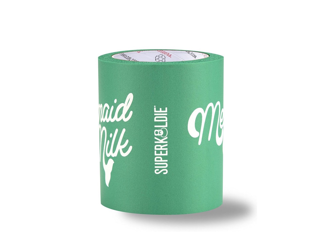 Mermaid Milk Can Cooler by SUPERKOLDIE