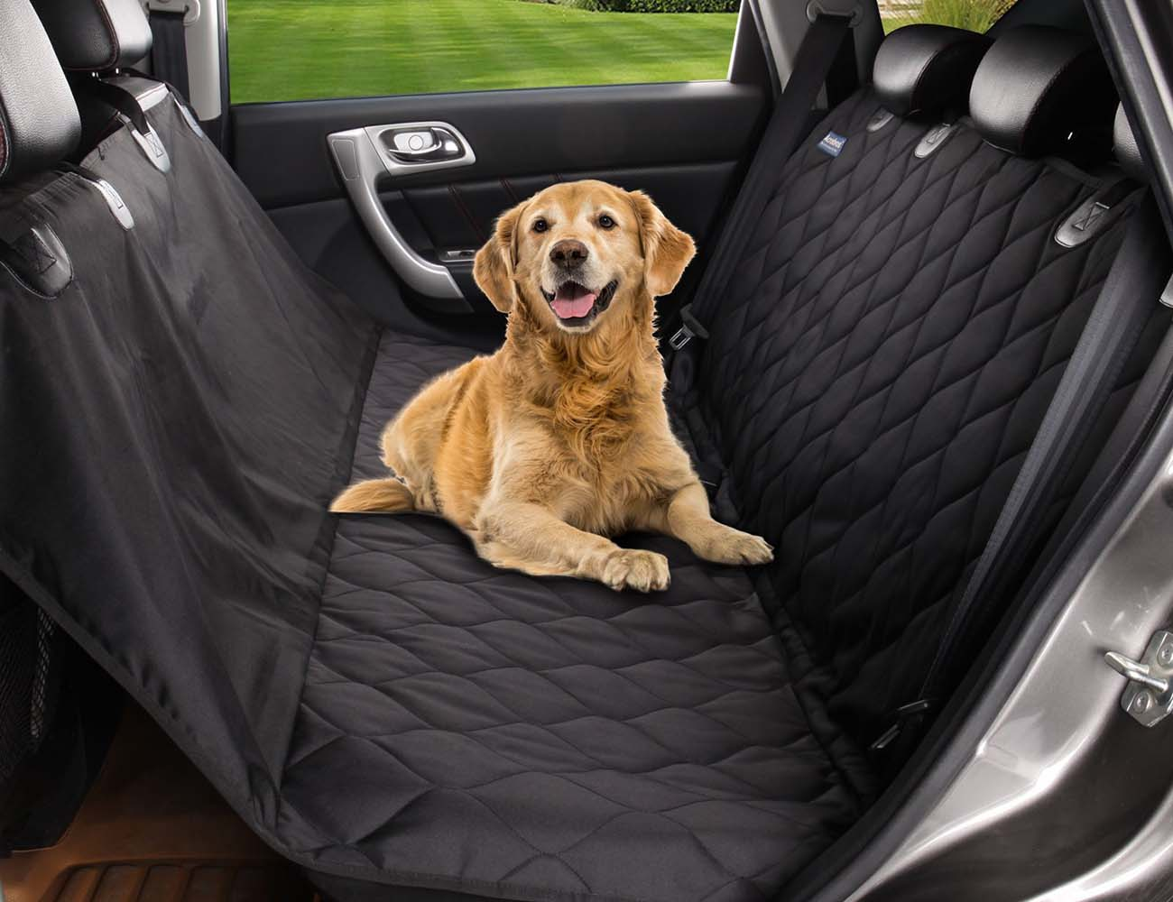 Microfiber Waterproof Pet Car Hammock
