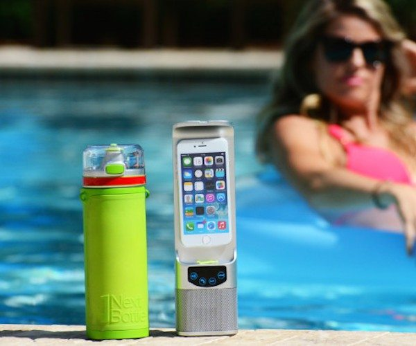 Water Bottle With Charger And Speaker