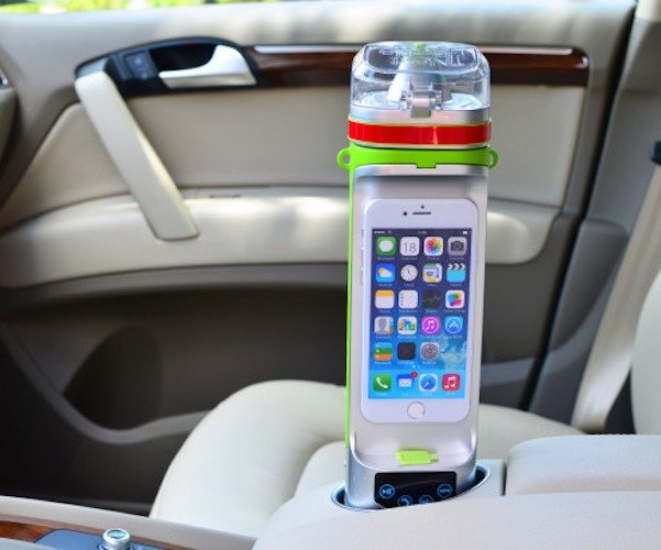 Next Bottle – Water Bottle With Charger And Speaker