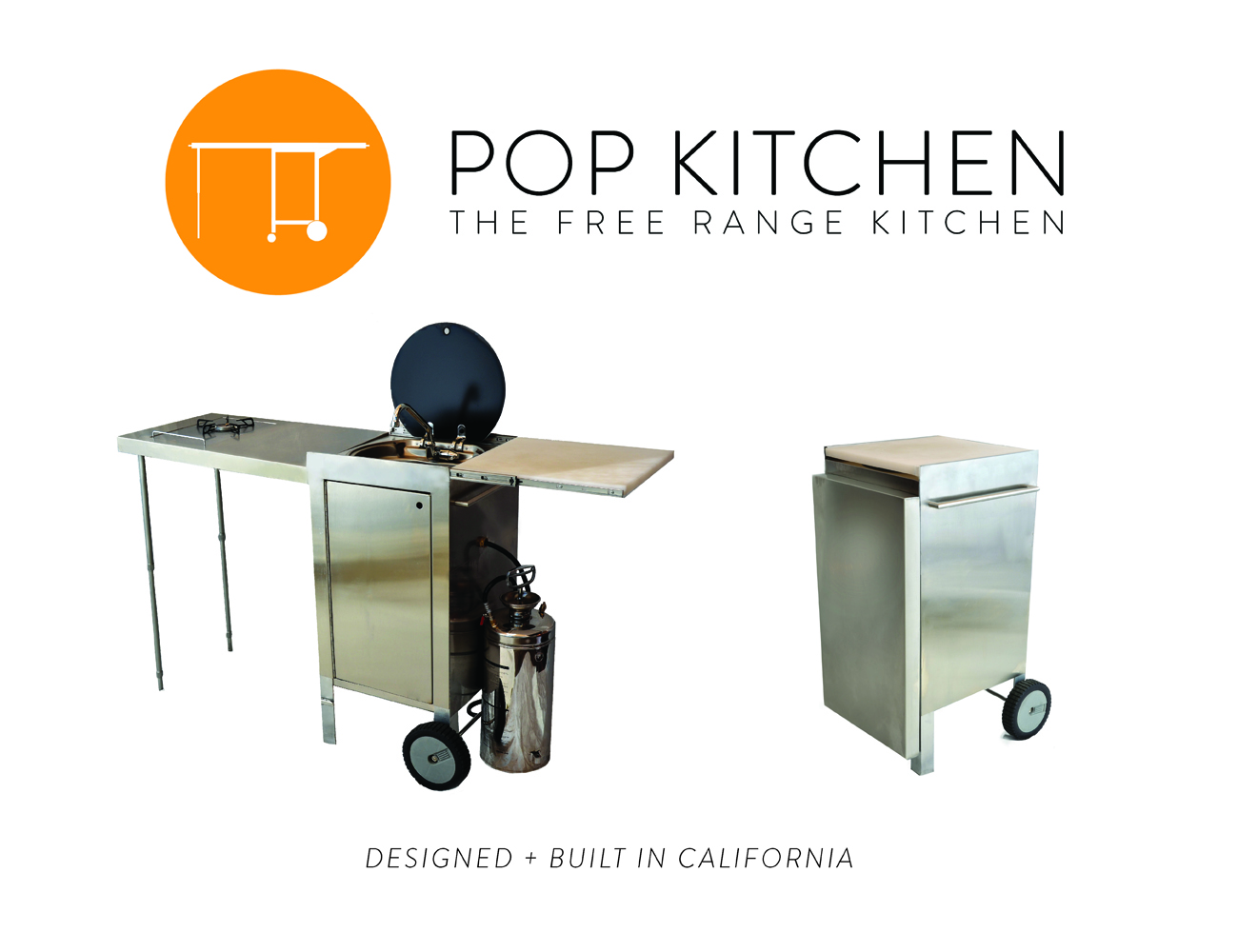 Pop Kitchen: World's First Truly Portable Kitchen