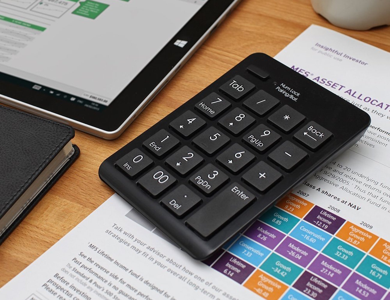 Bluetooth Numeric Keypad by Satechi