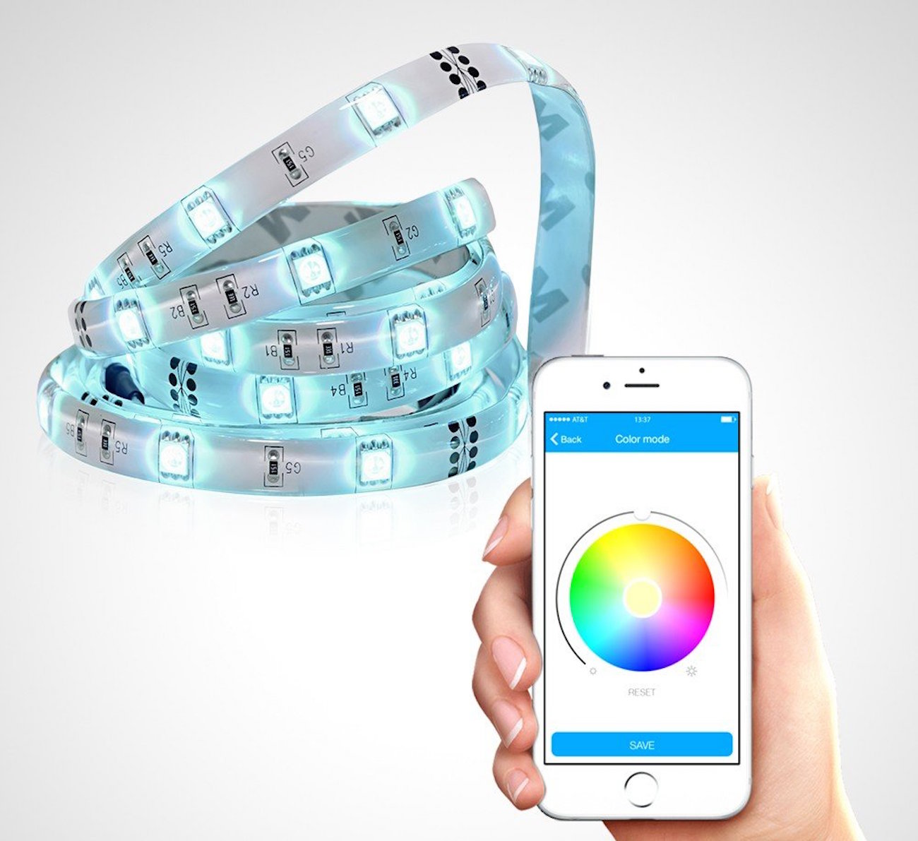 Satechi Bluetooth RGB LED IQ Strip