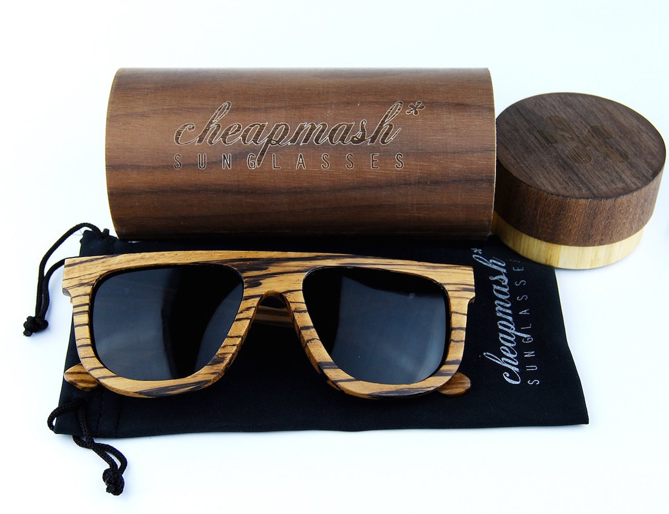 Saturn Wooden Sunglasses