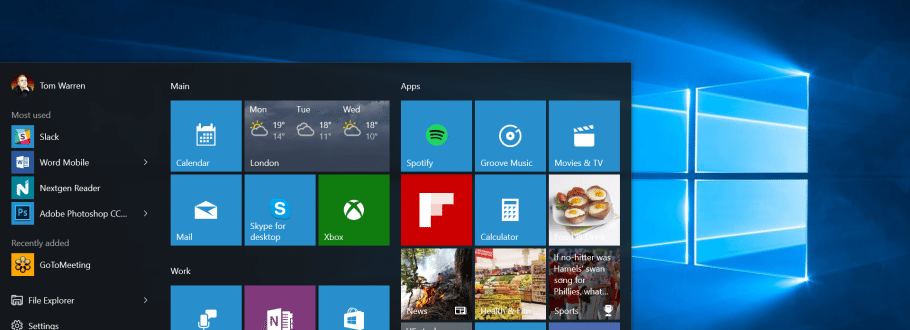 Microsoft Windows 10: Back to Basics With Some Improvements
