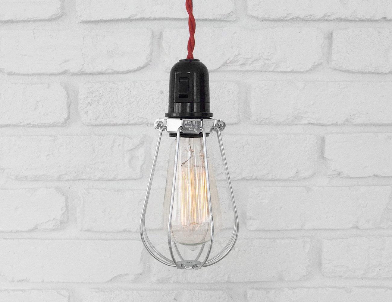 The Morton Lamp – Handmade Vintage Hanging Pendant Lamp