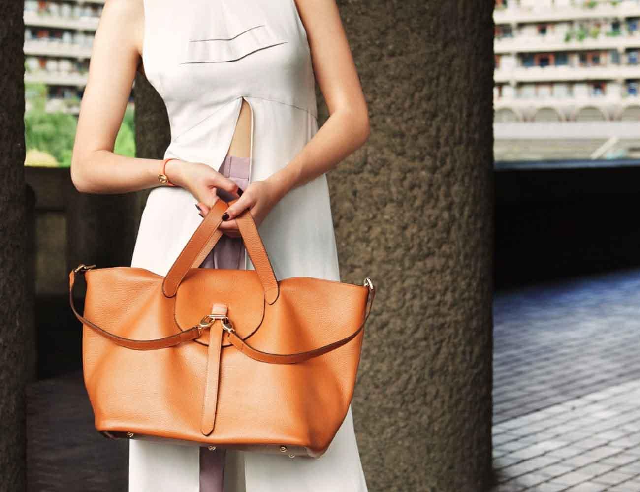 Thela Tan Tote Bag