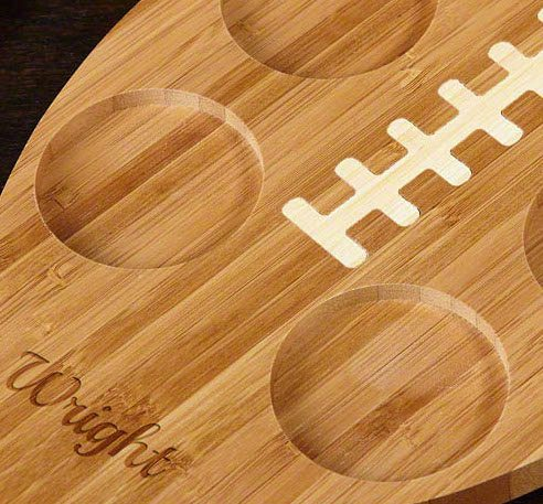 Touch Down Football Serving Tray