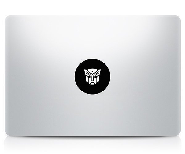 Transformers MacBook Decal