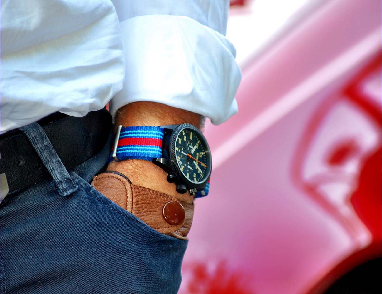 Vintage+Driver+Chrono+By+Straton+Watch+Co.