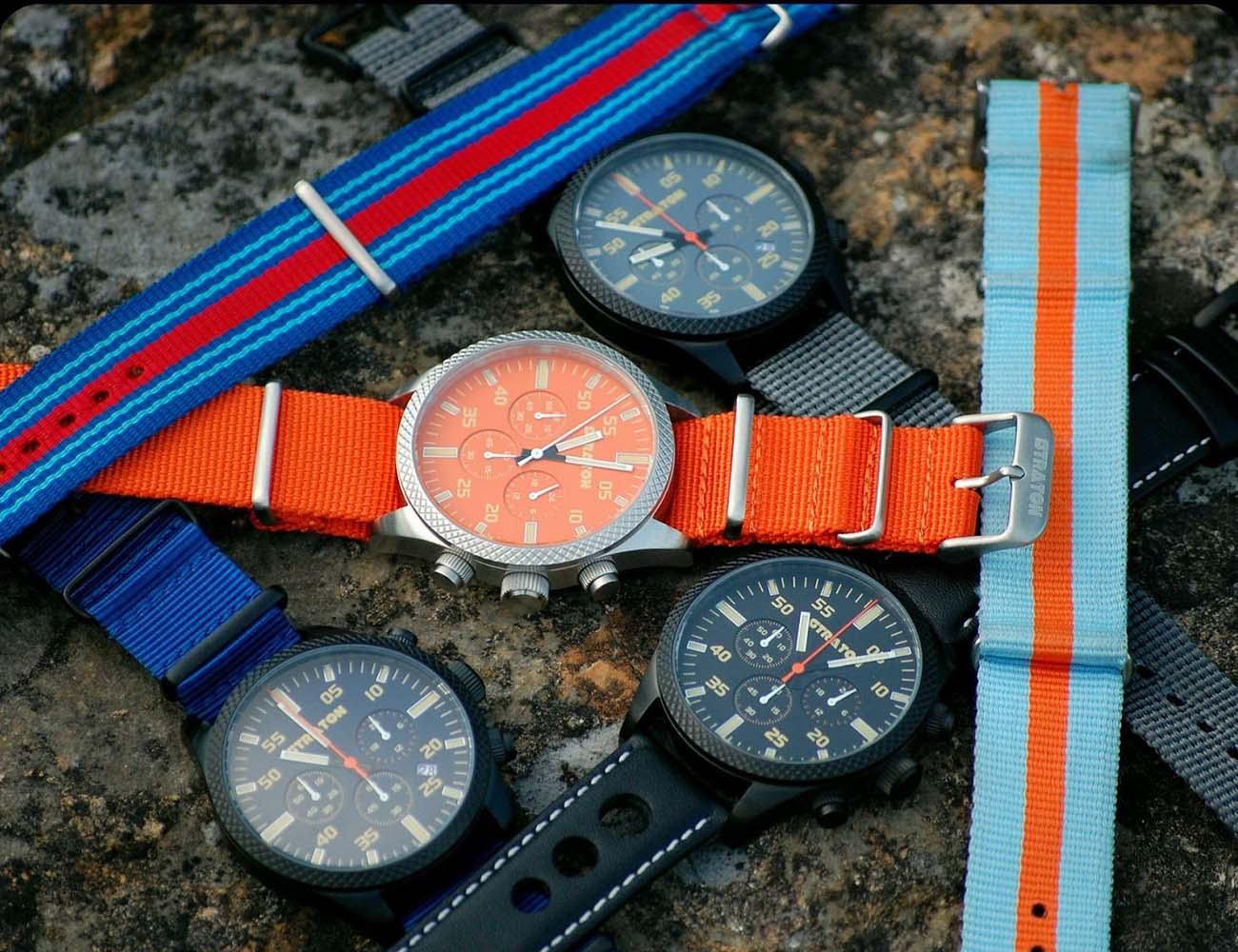 Vintage Driver Chrono by Straton Watch Co.