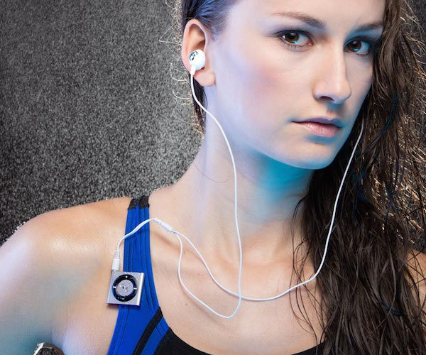 Waterproof iPod shuffle Swimbuds SPORT Bundle