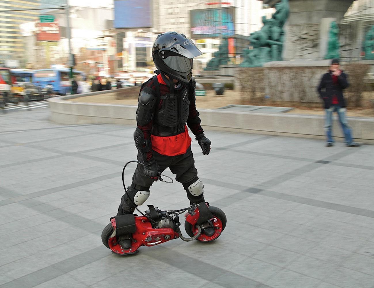 Wheelman 50cc gas skateboard 187 review