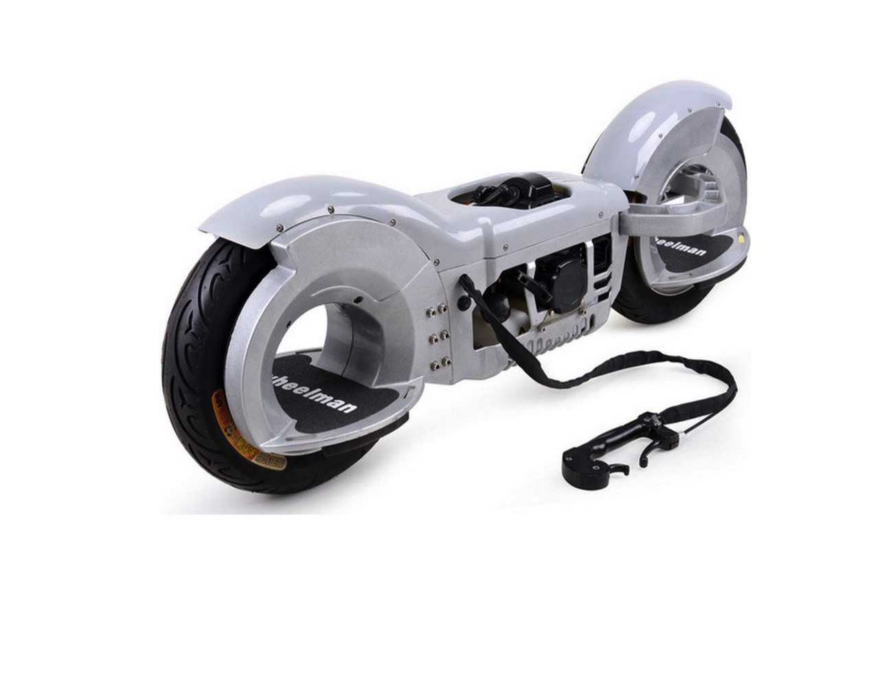 Wheelman 50cc Gas Skateboard » Gadget Flow