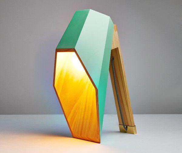 Woodspot Table Lamp by Seletti