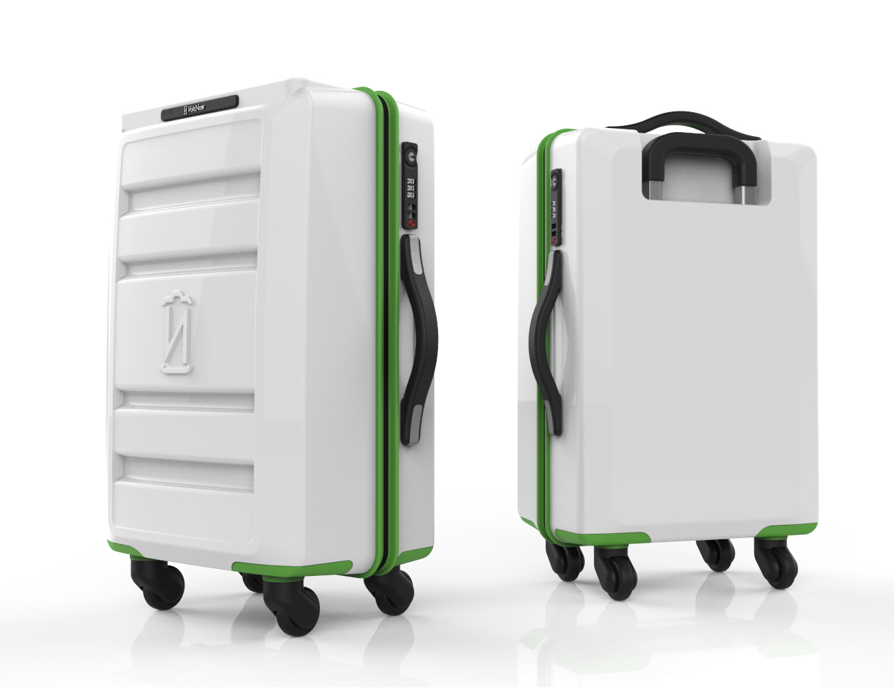 World's First Wireless Charging Suitcase