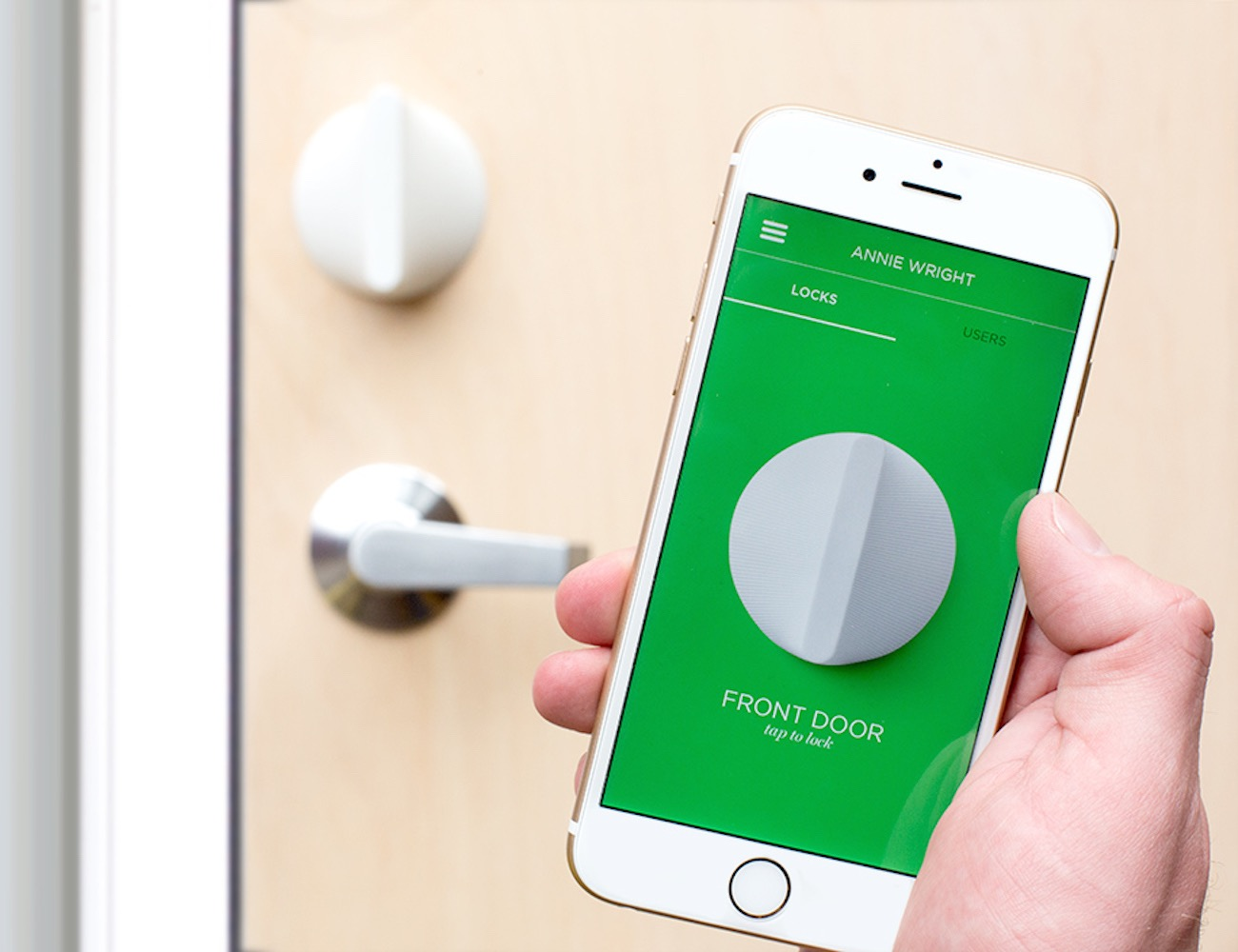 Friday Smart Lock U2013 Turn Your Phone Into Your Key