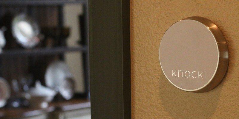 Knocki remote control smart device