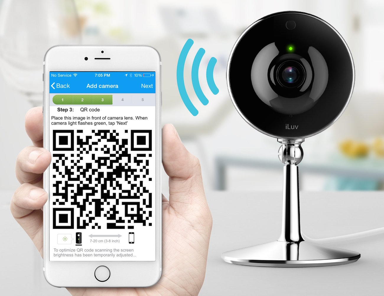 mySight Wi-Fi Cloud Video Camera