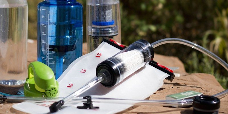 Oasis water filtration system