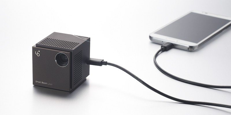 UO Smart Beam Laser Pico Projector