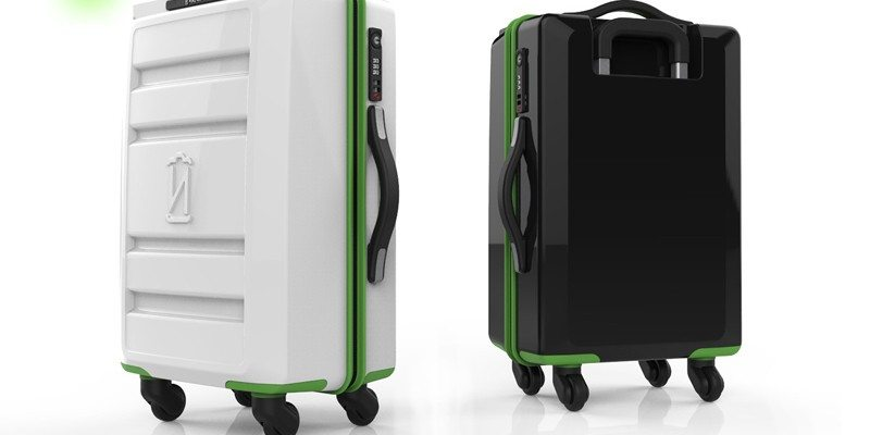VoltVoyage wireless charging suitcase