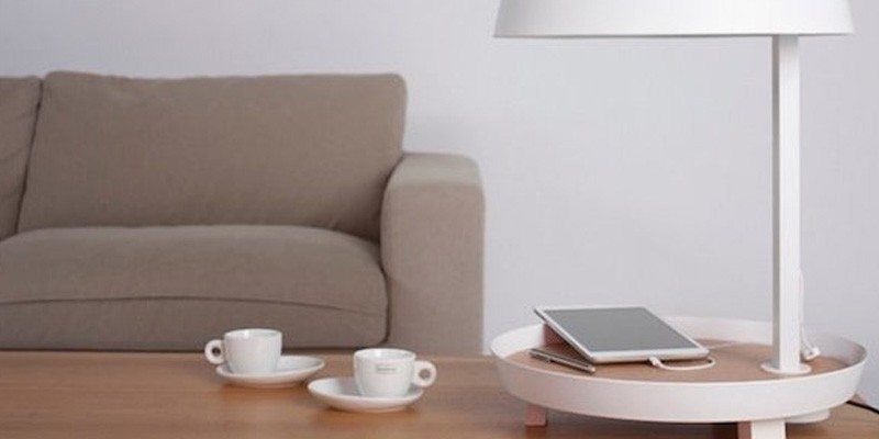 Carry USB Outlet Table Lamp
