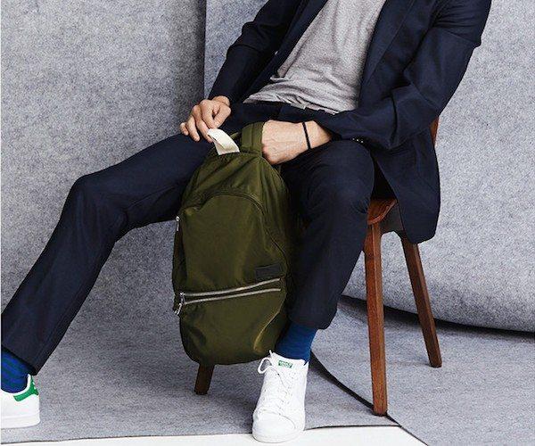 Black Lorimer Backpack – Modern Look With Cool Fashion Details