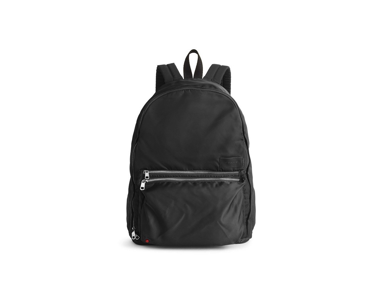 Black Lorimer Backpack – Modern Look With Cool Fashion Details