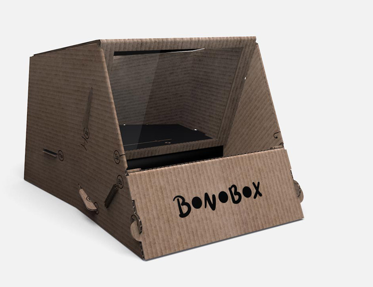 Bonobox – 3D Holograms With Your iPhone