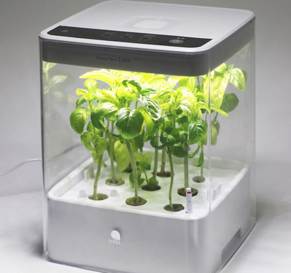 Cube Green Farm Hydroponic Grow Box by U-ING