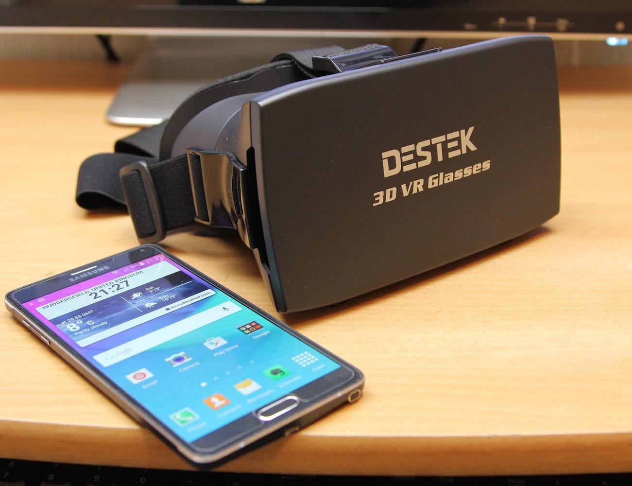 3D VR Virtual Reality Headset by DESTEK