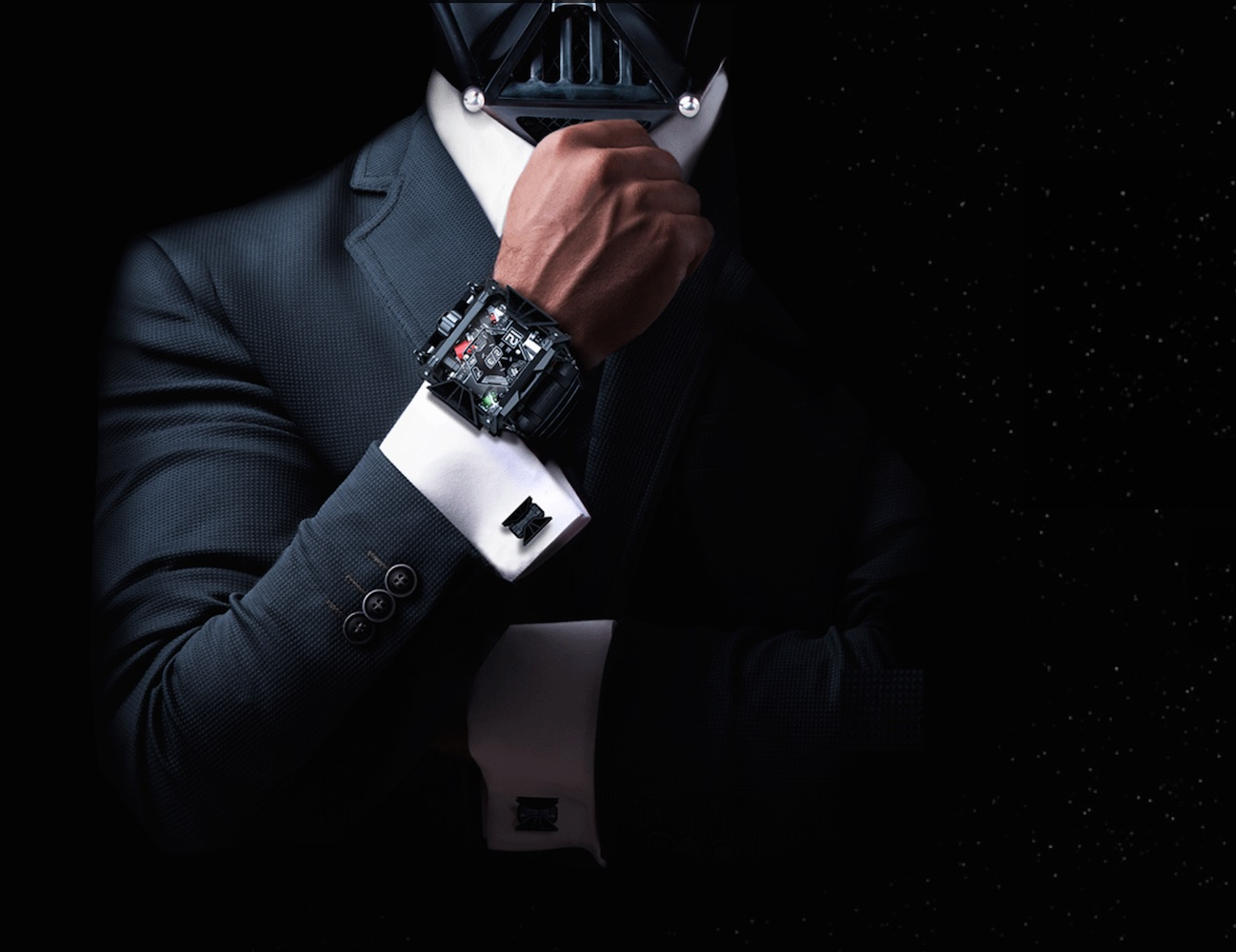 Darth Vader Inspired Watch