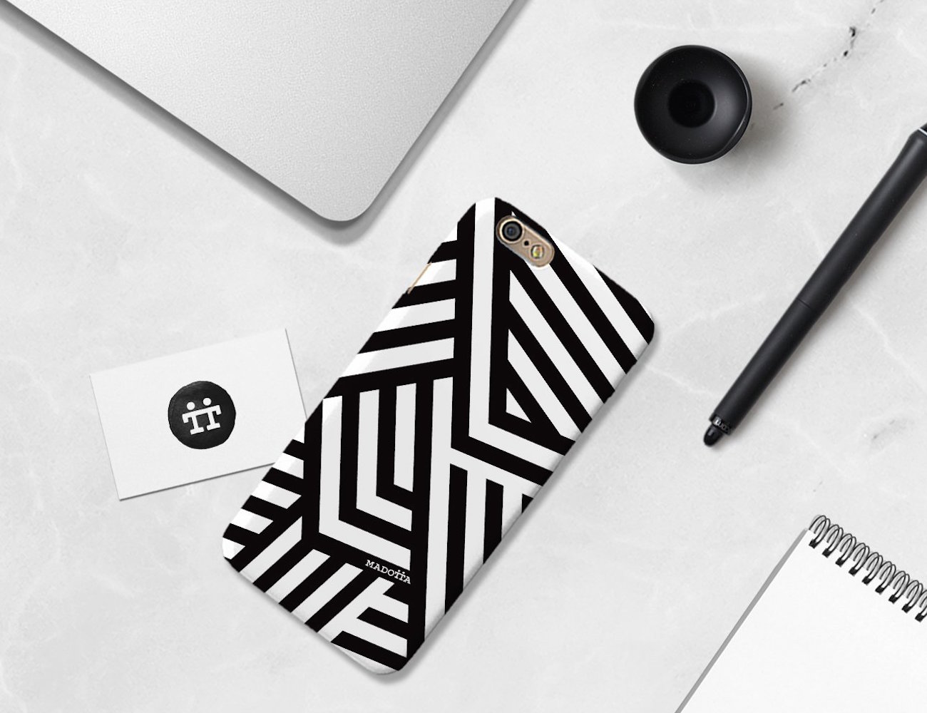 Dazzle+Camouflage+Phone+Case+By+Madotta