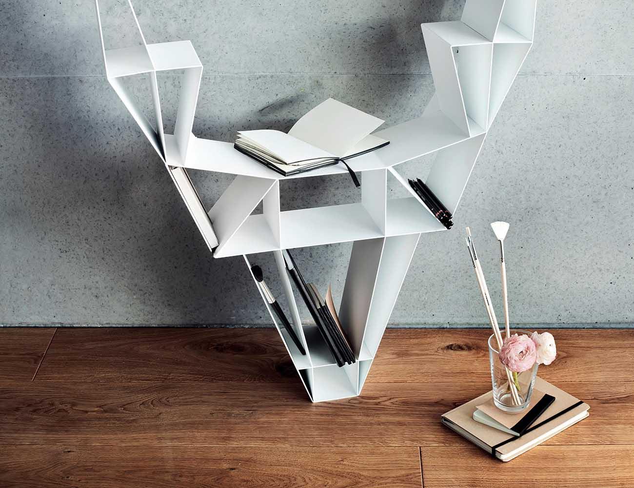 Deer Shelf – Impressive Bookshelf Inspired From Wild Deer