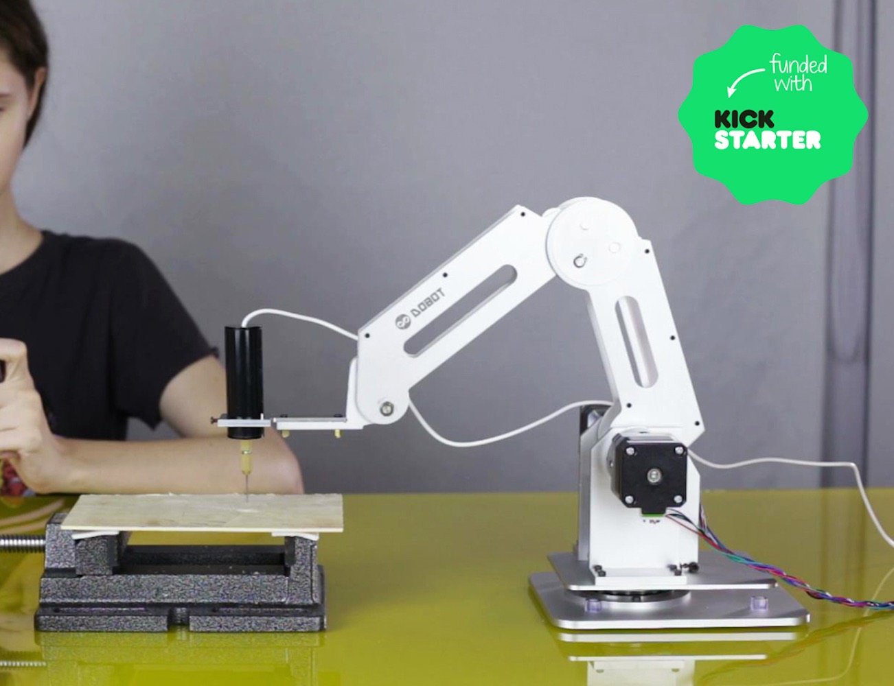 Dobot robotic arm for everyone arduino open source