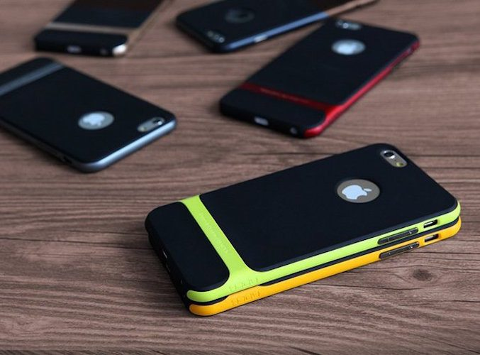 Designed for the iPhone 6 and iPhone 6 Plus, the Double Layer ...