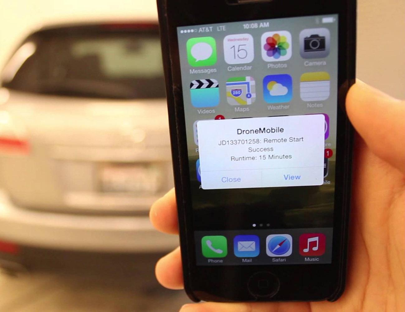 DroneMobile – Smartphone Remote Start GPS System