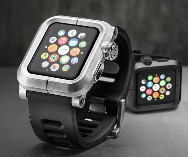 EPIK+Aluminum+Case+And+Silicone+Band+For+Apple+Watch+By+Lunatik
