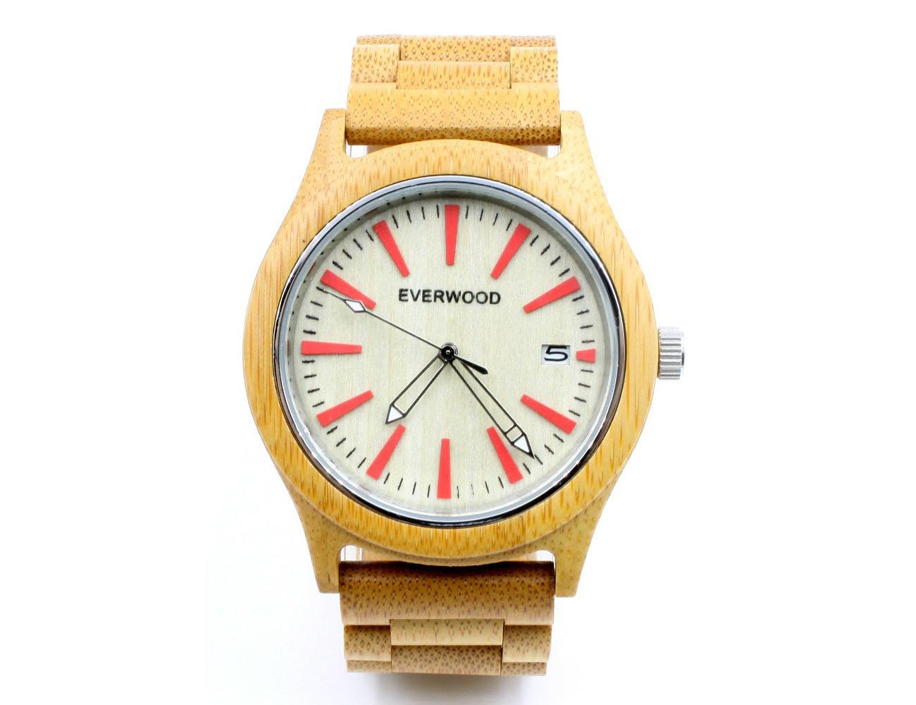 Everwood Natural Wooden Watches and Bracelets