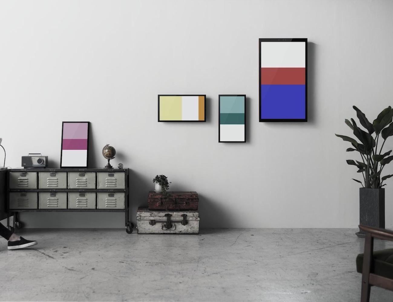 FRAMED – 24-Inch Digital Art Screen