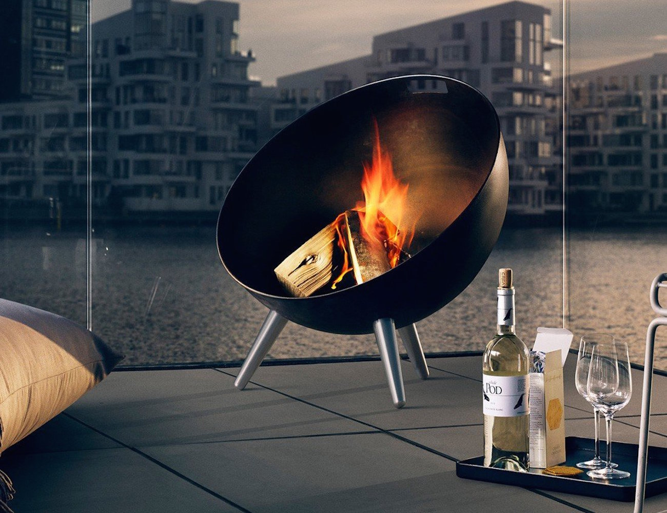 fireglobe fireplace by eva solo beautiful accessory for