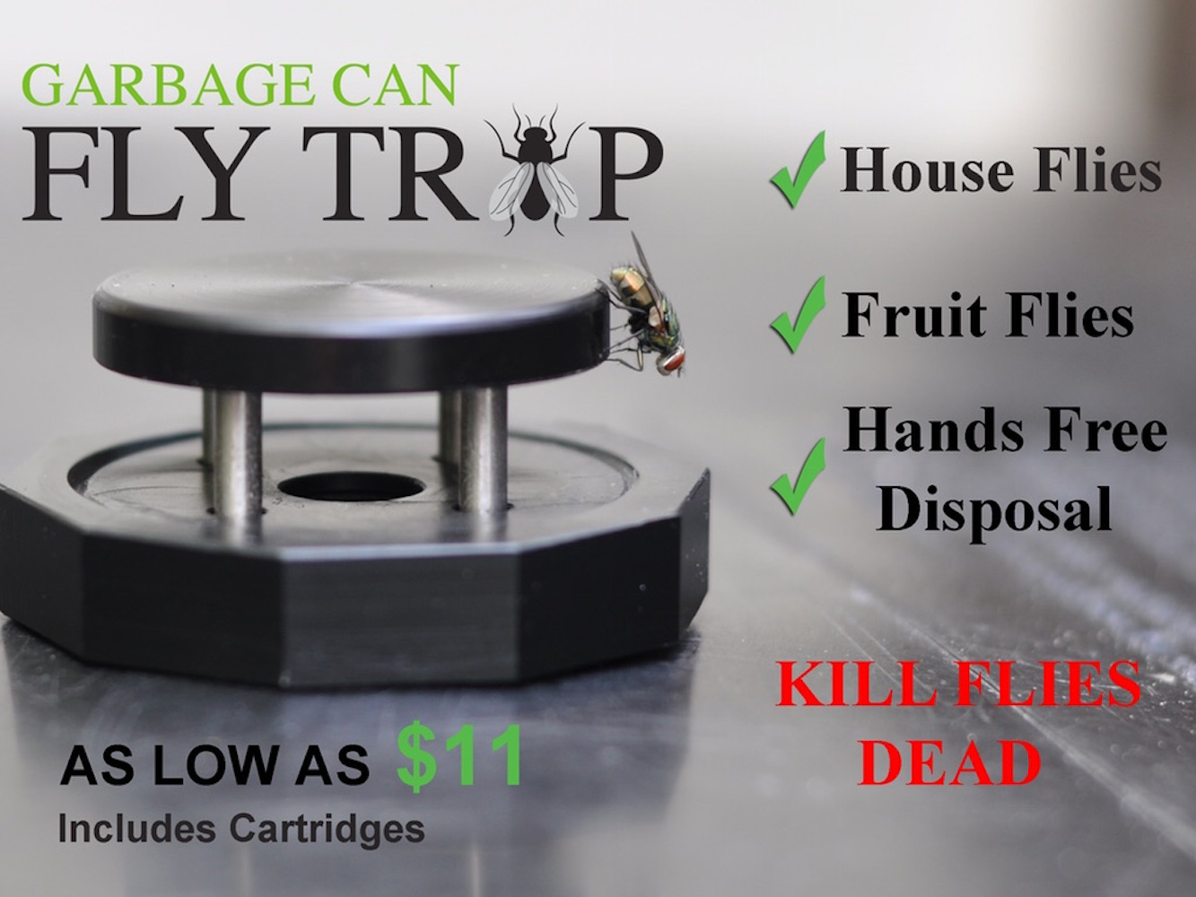Garbage Can Fly Trap