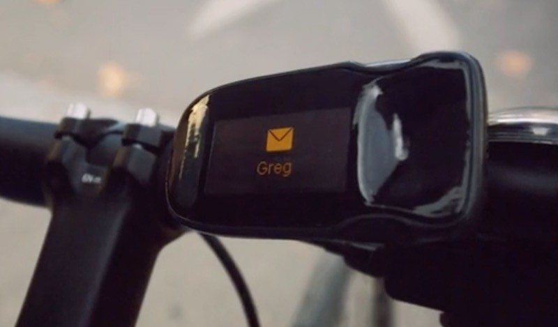 The Haiku Bike Computer Adds GPS and Call Alerts to Your Handlebars